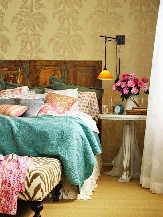Incluye el estilo vintage en tu dormitorio