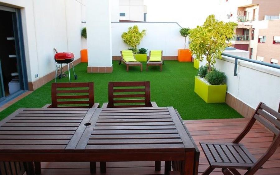Roof Garden con asador