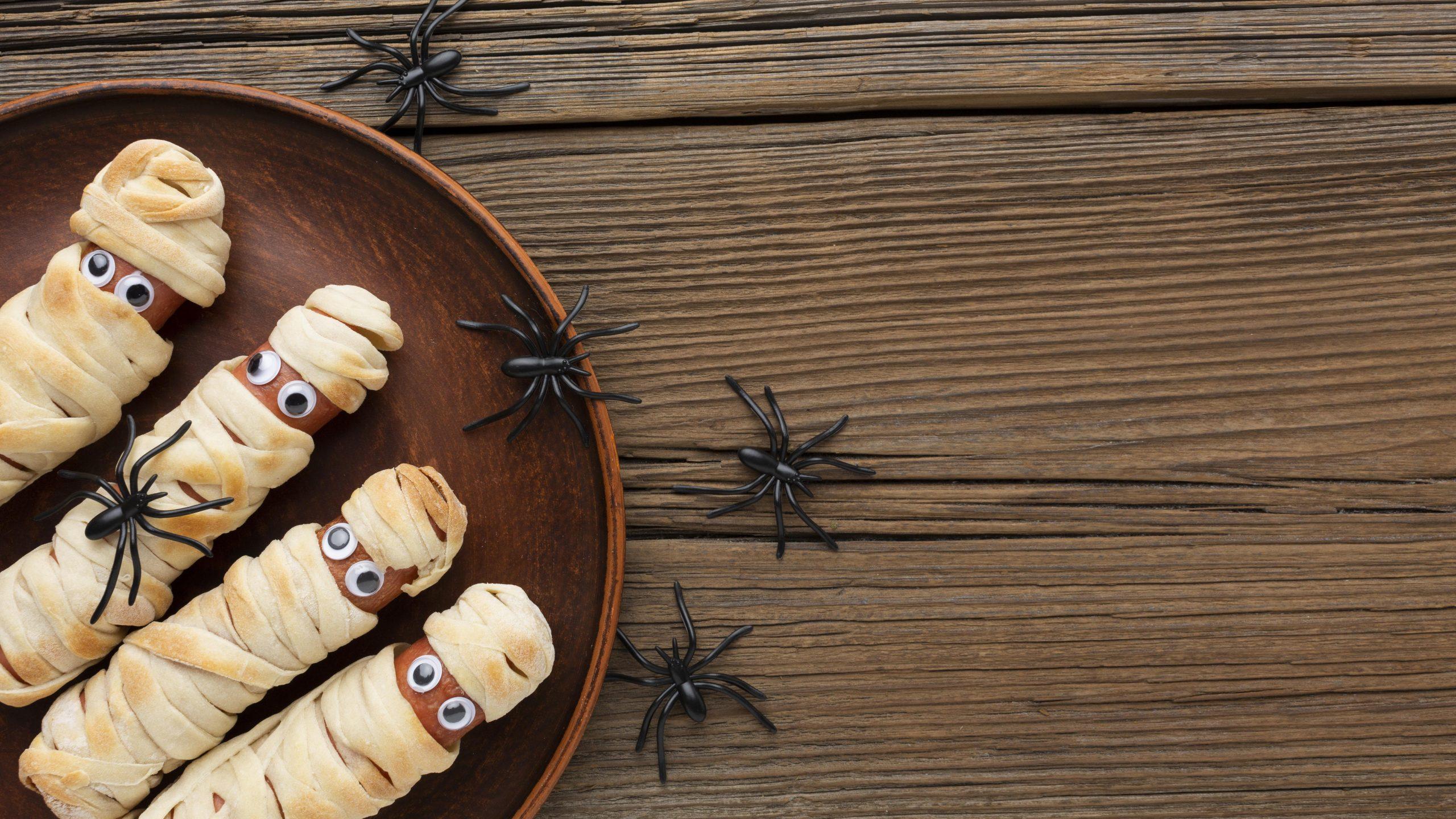 bocadillos de halloween