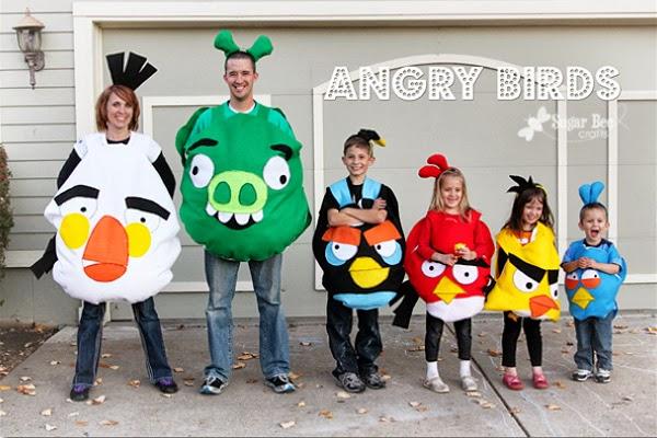 disfraces de angry birds