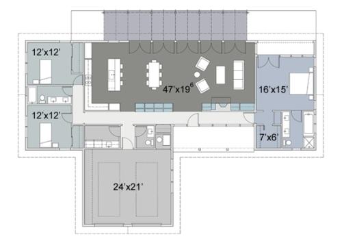 plano-de-casa-estilo-rancho-de-tres-dormitorios-500x352