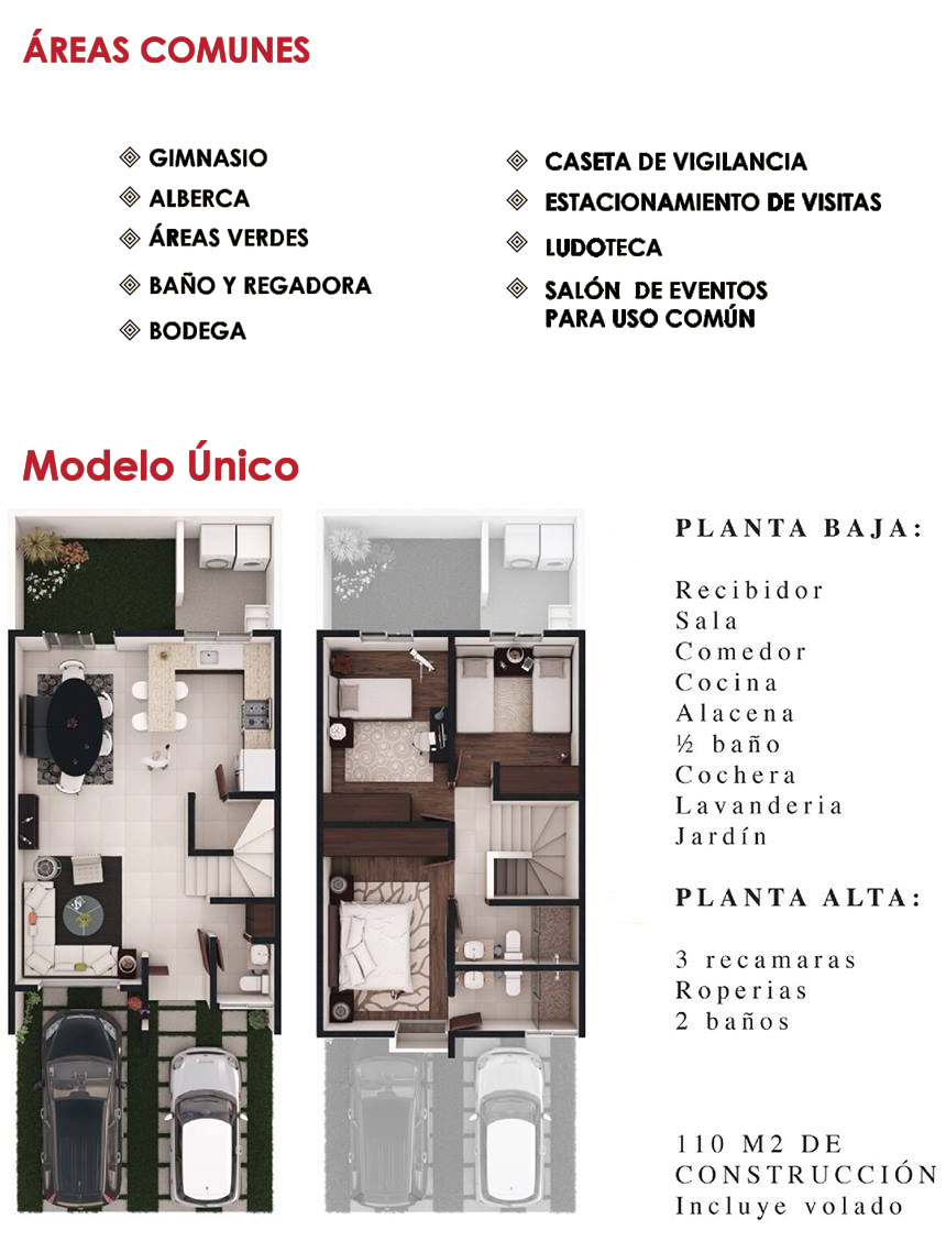 Palmas Residencial modelo