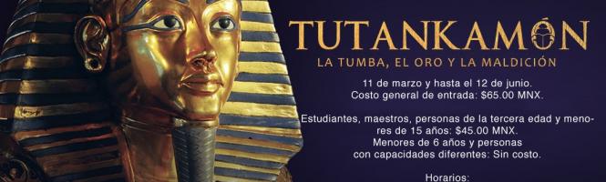 """Exposición """"Tutankamón: la Tumba, el Oro y la Maldición"""""""