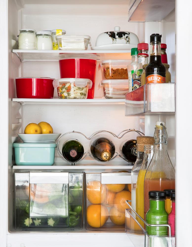 mantener en orden y sin olores el refrigerador