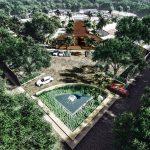 Vista-aerea-Cenote-Residencial-terrenos-en-Quintana-roo