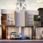 fachada-Modelo-Baham-Mattia-Residencial-Juriquilla-Queretaro