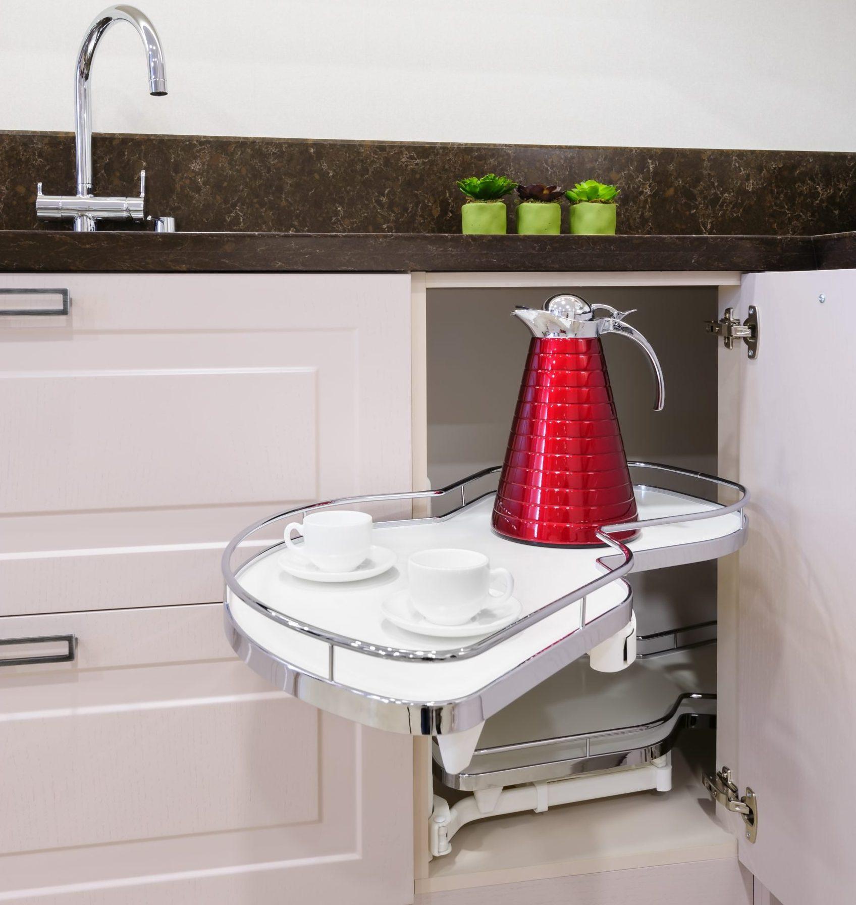 Cocinas modernas Pequeñas espacios de trabajo extrapoles