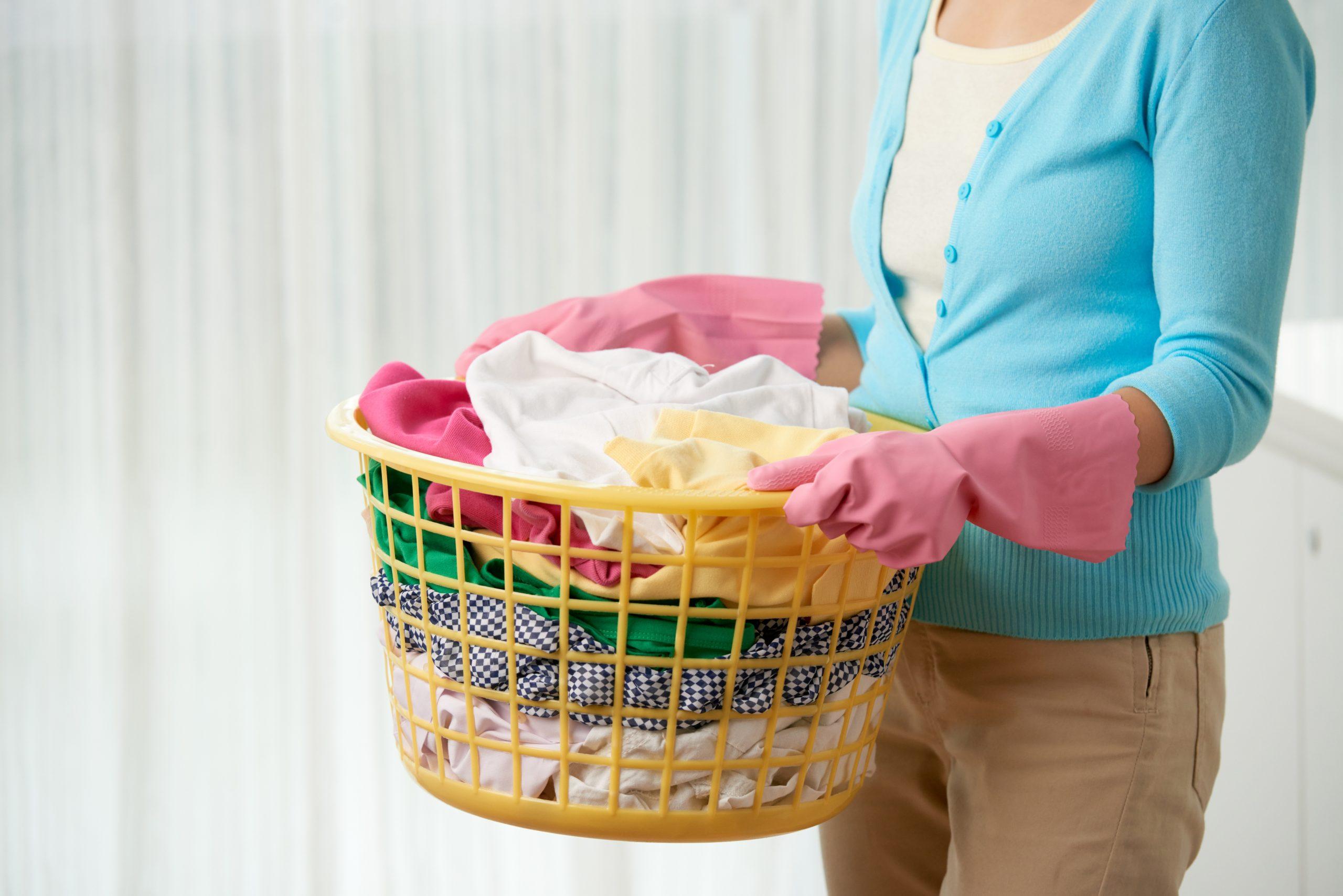 limpieza del hogar limpiar y desinfectar la ropa