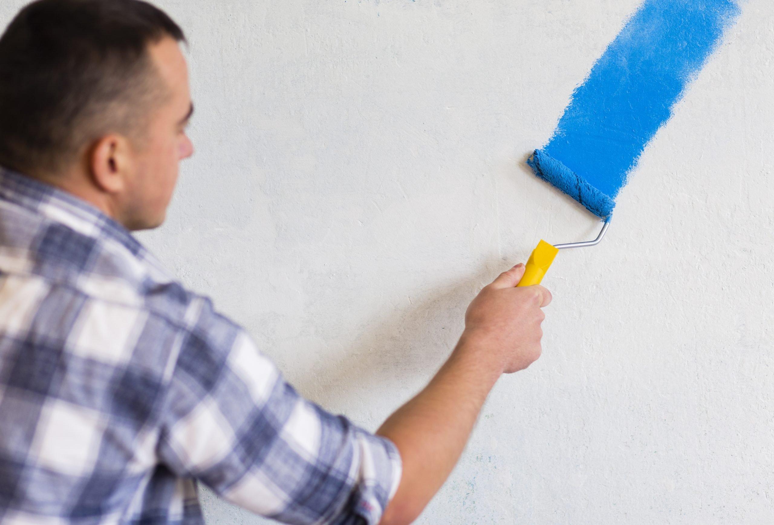 Cómo pintar una pared Pintar con forma W