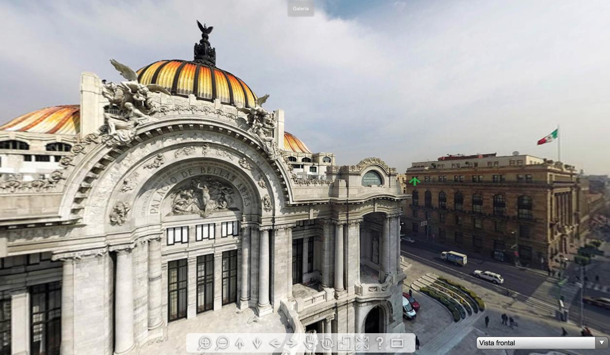 Recorridos virtuales Palacio de Bellas Artes