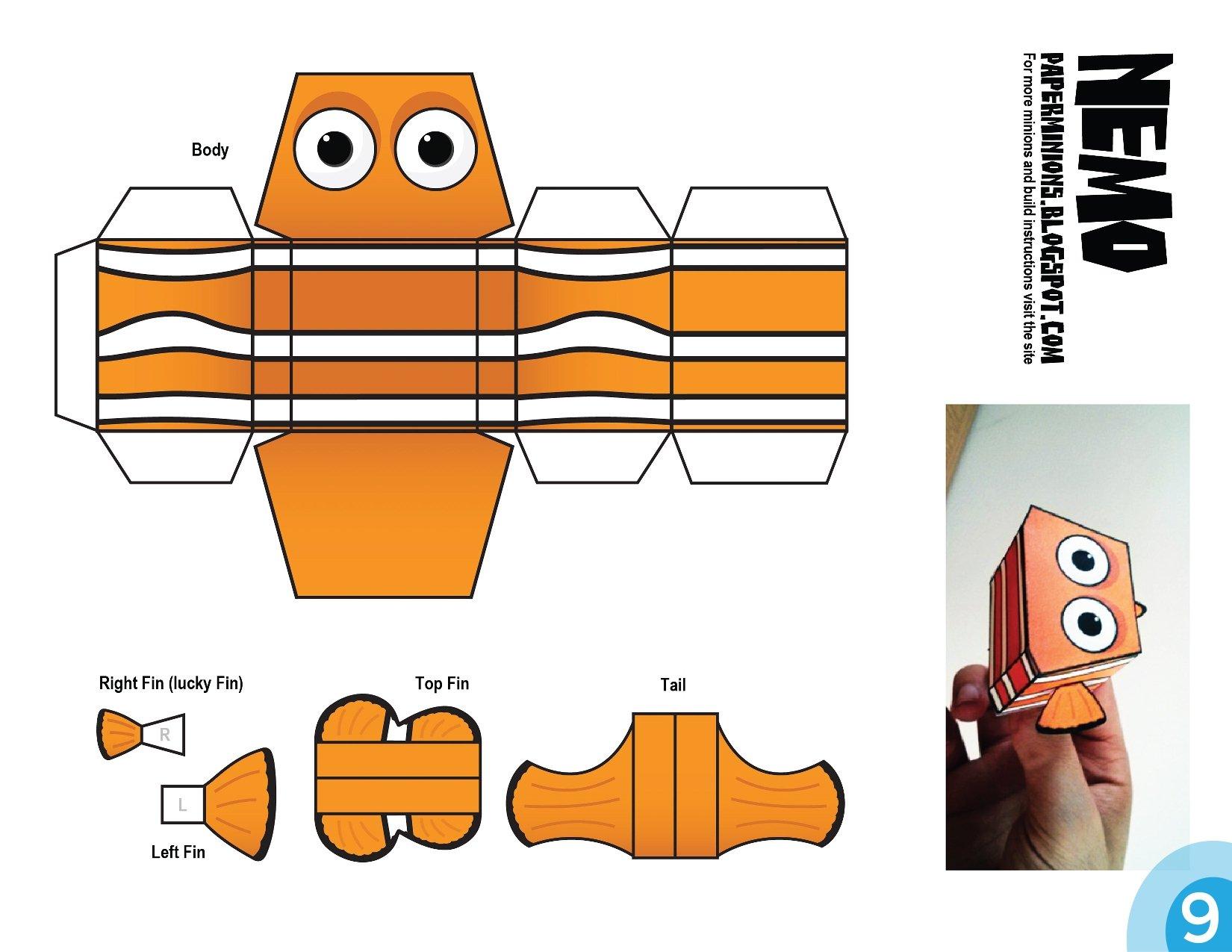 Paper-Toy Nemo