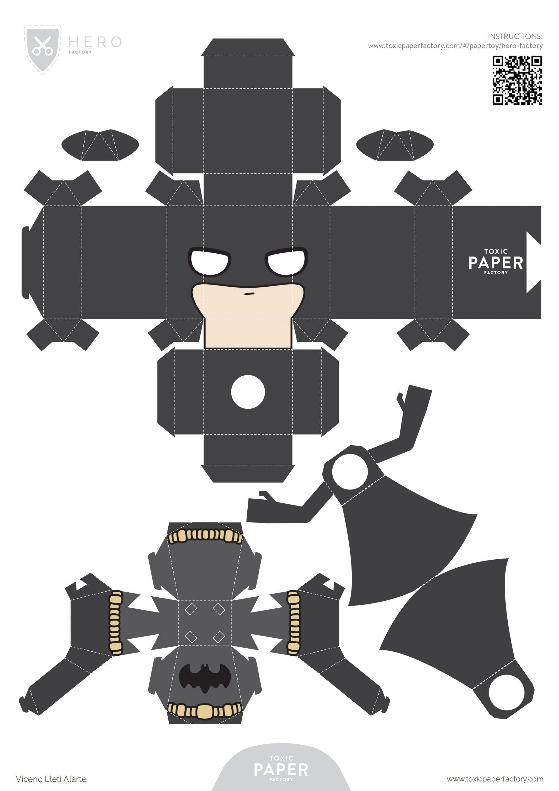 Paper-Toy Batman